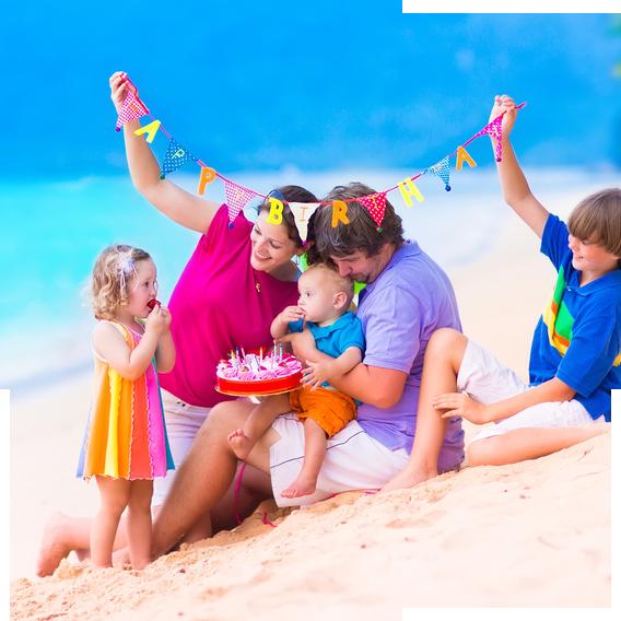 Beach Birthday Deal