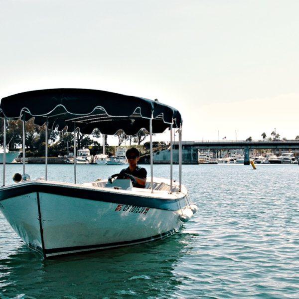 Newport Beach Electric Boat